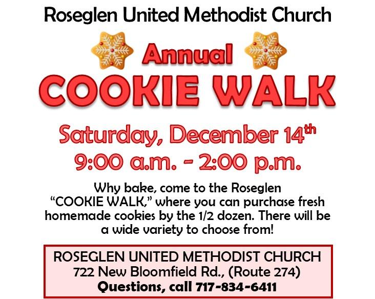 Cookie Walk @ Roseglen United Methodist Church
